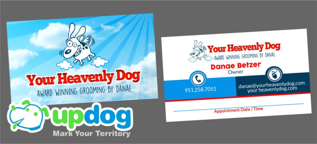 UpDog Custom Business Cards