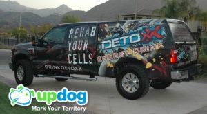 Detoxx Truck Wrap