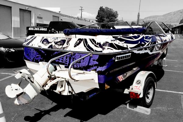 Boat Wrap - UpdogWraps
