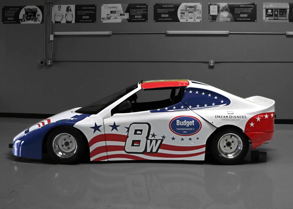 Race Car Wrap - UpdogWraps