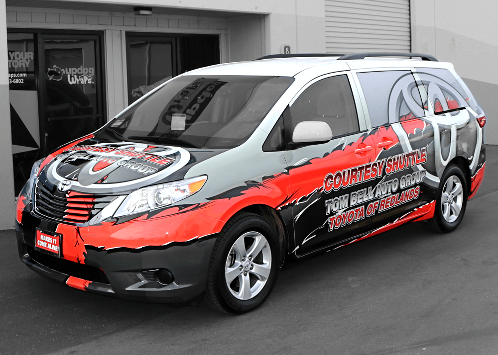 Van Wrap - UpdogWraps